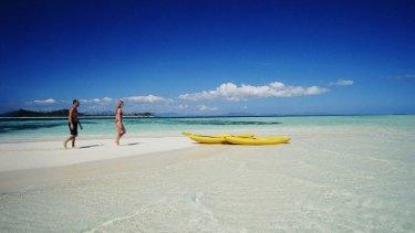 Tragedy ... Plantation Island Resort in Fiji.