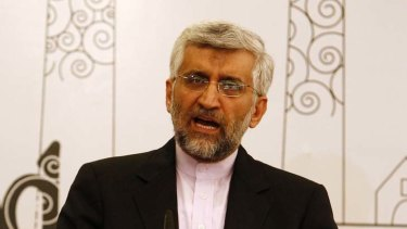 Iran's chief nuclear negotiator Saeed Jalili.