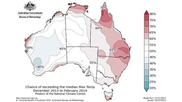 Odds favour warmer-than-average summer