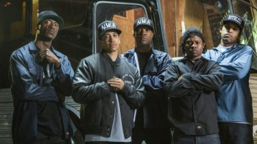 Shiny and muscular: <i>Straight Outta Compton</i> compromises the truth.