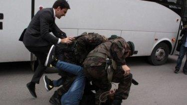 Turkish media identified the man as Yusuf Yerkel.