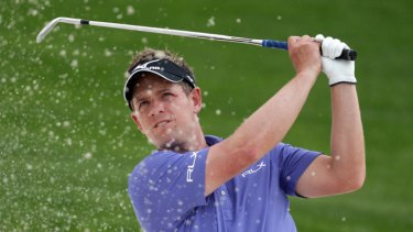 Luke Donald's swing is picture perfect.