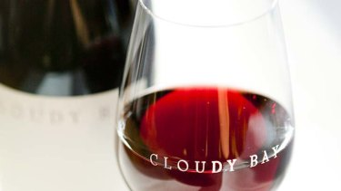 Cloudy Bay wine will be served as part of a duck and wine set-menu.