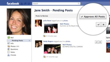The changes mean users can approve or reject all posts depicting or referencing them.