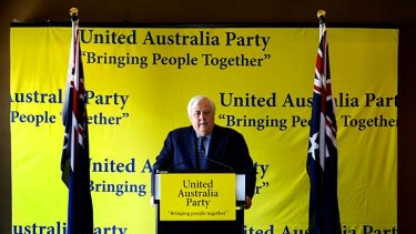 Clive Palmer's party has a new name.