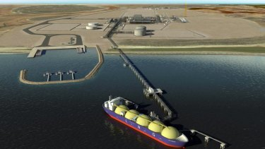 Higher demand: Wheatstone in WA is one of Australia's largest resource projects.