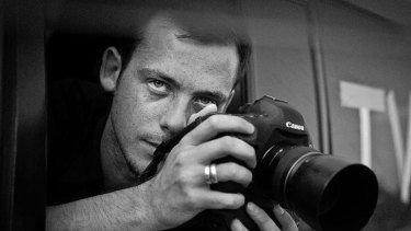 Undated photo of French photojournalist Remi Ochlik, who died with Colvin.