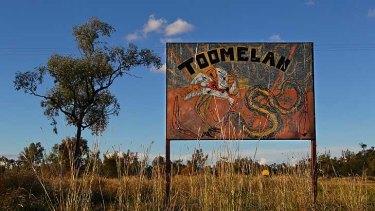 Signs of despair ... in the town of Toomelah.