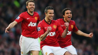 Kicking goals off the field: Manchester United is one of the most valuable sporting teams in the world.