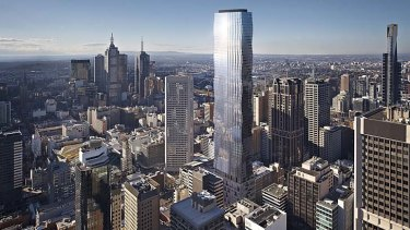Architect Impression of Tower Melbourne.