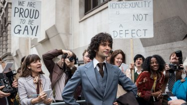 Ben Whishaw stars as Norman Scott in A Very English Scandal