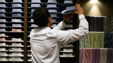 Shopping can be a chore for most men.