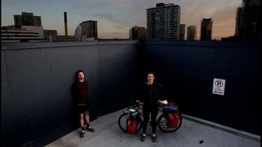 Greg Foyster and Sophie Chishkovsky rode around Australia  to explore alternative ways of living.