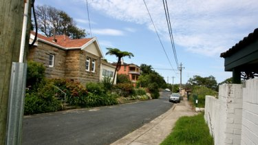 Nelson Parade in Hunters Hill.