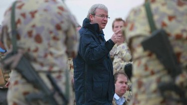 "There was ""incontovertible evidence"" that Saddam Hussein had wapons of mass destruction: Kevin Rudd."