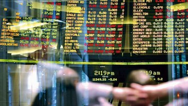 Australia's sharemarket ended the first day of autumn down 0.7 per cent to 5973.