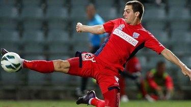Career lifeline: Tomi Juric will call Parramatta home next season.
