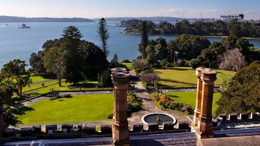 Council angst: Royal Botanic Gardens, pictured, along with the Domain are under pressure.