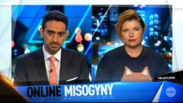 Appearing on The Project, Clementine Ford said online abuse was expected toward women who spoke out.