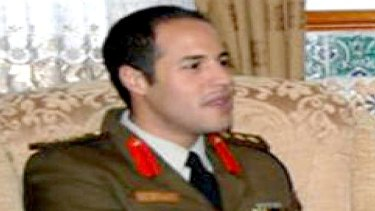 Khamis Gaddafi, sixth son of the Liyan leader.