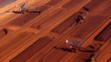 Chinese buyers have been unwilling to buy lower grade iron ore unless offered a discount of between 15 per cent and 20 per cent below the benchmark price.