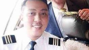 Engaged: Missing co-pilot of flight MH370 Fariq Abdul Hamid.