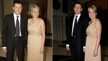 Tanya Plibersek with her husband Michael Coutts-Trotter at the 2013 Press Gallery Mid Winter Ball.