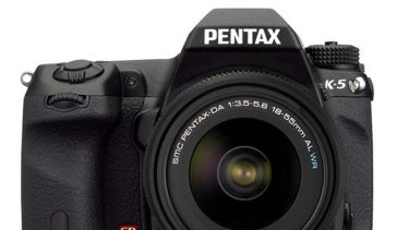 The Pentax K-5 DSLR.