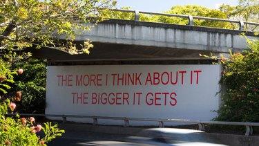 Moody's best known piece in Brisbane generates plenty of questions.