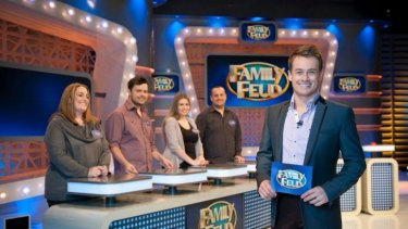 Rating with viewers ... <i>Family Feud</i> with Grant Denyer on Ten.