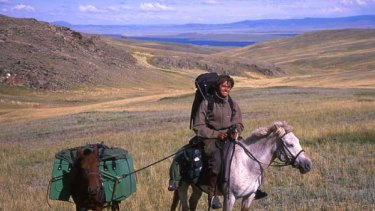 Tim Cope travels rough while following the trail of Genghis Khan.