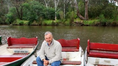 Andrew Kelly is the new Yarra River-keeper