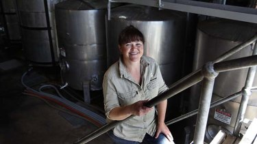 """Capable women were """"probably confronting for some men"""" in the wine industry, even in the early 2000s: Sarah Crowe of Bimbadgen Estate in the Hunter Valley, NSW."""