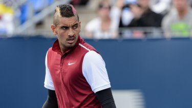 """""""There is no blame game, I take full responsibility for what was said"""": Nick Kyrgios."""