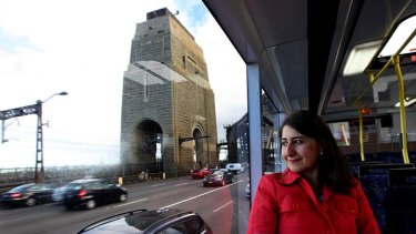 """''We are regrettably one of the most inefficient railways in the world"""" ... Gladys Berejiklian."""