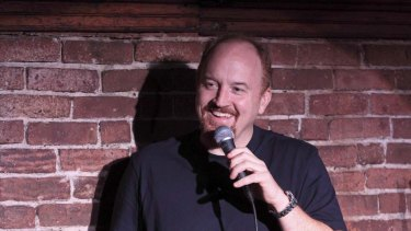 Finding a new way of reaching audiences ... comedian Louis CK.
