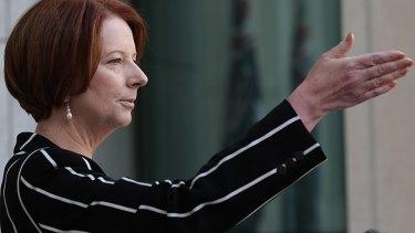 Defending her office ... Prime Minister Julia Gillard.