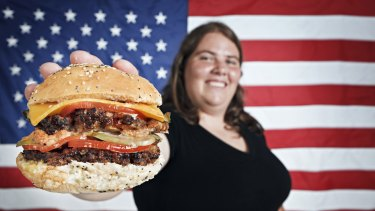 Beef shipments to the US have surged by more than two thirds, with most of it destined to end up as burgers.
