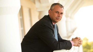 """""""My message to Clive is clear"""": Northern Territory Chief Minister Adam Giles."""