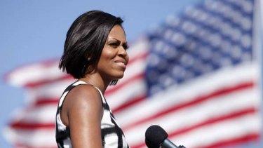 Powerful? Michelle Obama.