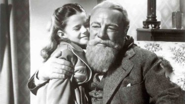 Heartwarming... A scene from a Miracle on 34th Street.