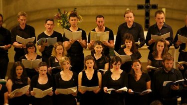 Transcendent: the Choir of London will join the ACO in performing Bach's Christmas Oratorio.