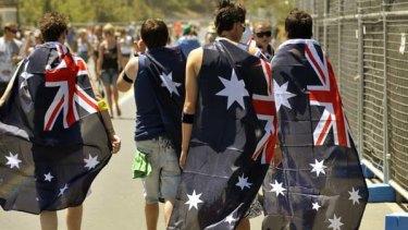 Excessive displays of patriotism are being labelled bogan.
