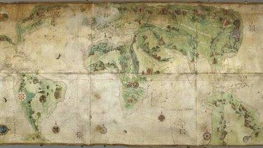 Dauphin or Harleian world map, c.1547.