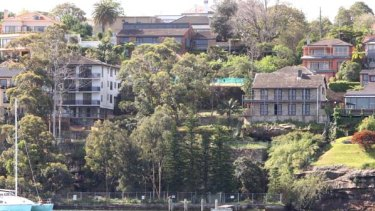 Not in our backyard... the Hunters Hill site from which radioactive waste will be removed.
