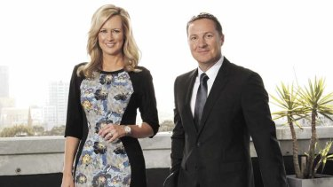 Marathon run: Seven's Afternoon News with Melissa Doyle and Matt White runs for 90 minutes.