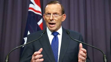 """""""There should be changes to indexation arrangements and eligibility thresholds"""": Tony Abbott."""