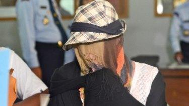 Schapelle Corby the day of her release from Kerobokan prison.