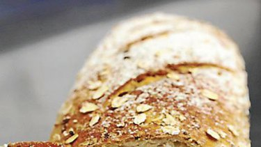 Chewy texture, lots of bits ... what to look for in a healthy bread.