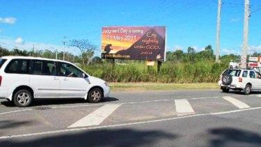 A billboard in Wacol.